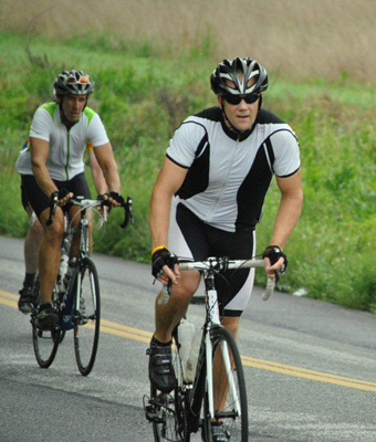 Biking in Livestrong