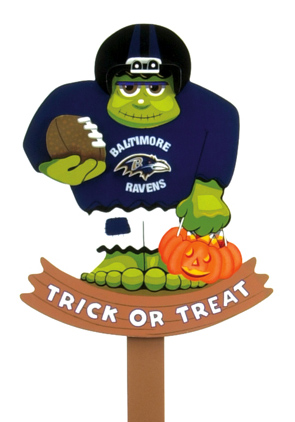 NFL Halloween Deocrations