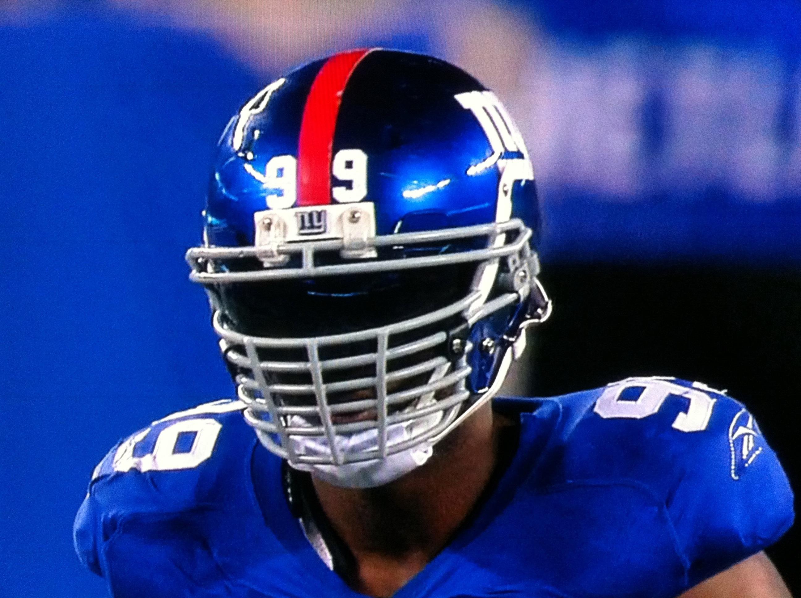 Justin Tuck Facemask for Schutt DNA Helmet