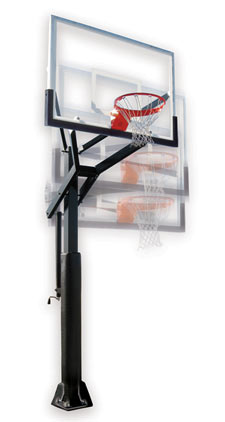 First Team Adjustable Basketball Hoop