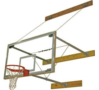 "Spalding 3-Point Basketball Wall Mount - 24"" through 40"""
