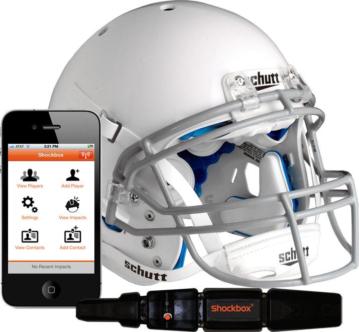 Football Helmet Impact Sensor System