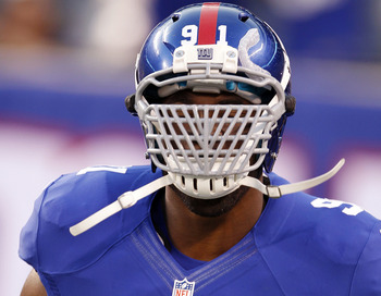 Justin tucks intimidating face mask