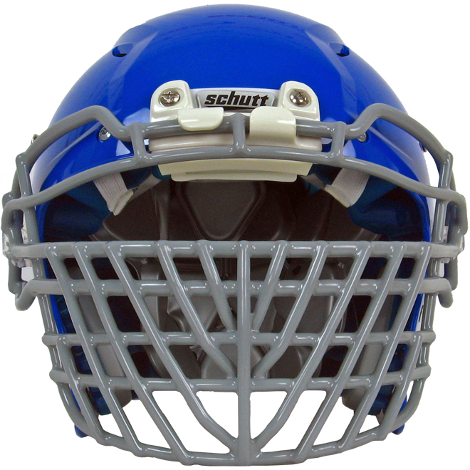 Football Helmet Grill : Attaching a big grill facemask to the schutt vengeance