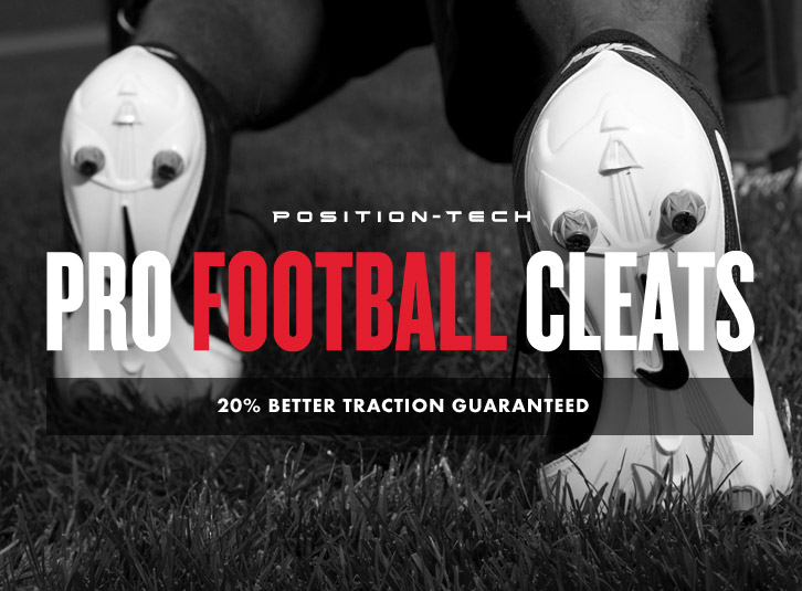 Position Tech Football Cleats System: Product Spotlight