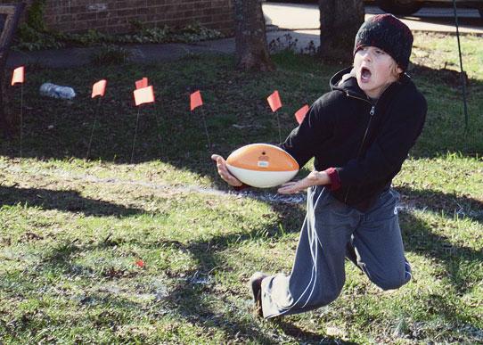 Backyard Football Catch