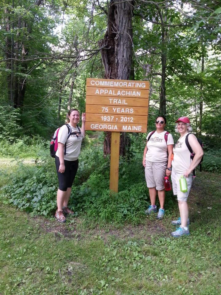 The Appalachian Trail Sign