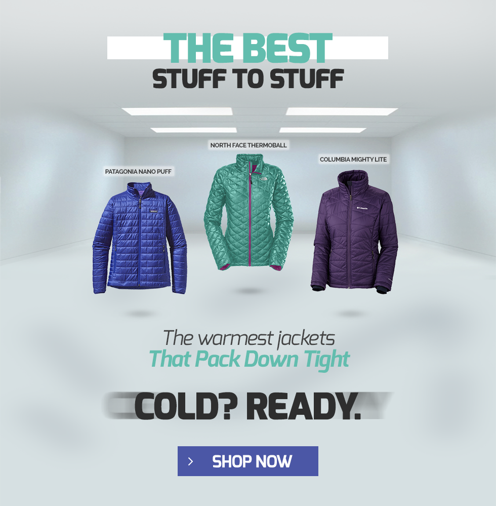 Outerwear and Winter Jackets from Patagonia, The North Face, and Columbia