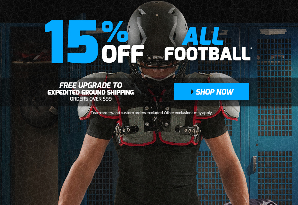 Holiday Football Gear Sale