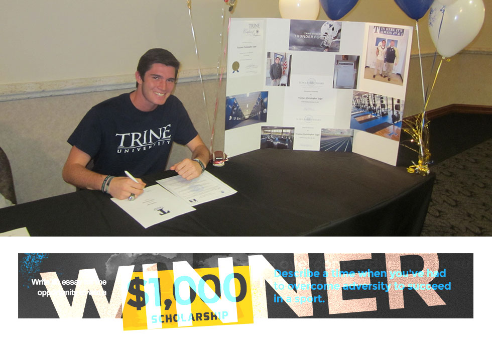 Trystan Lago Awarded 2015 Scholarship