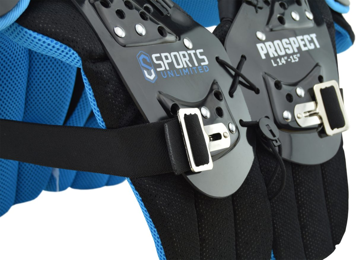 New 2018 Adult and Youth Football Shoulder Pads from Sports Unlimited